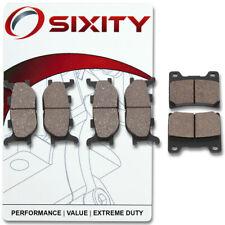 Front + Rear Ceramic Brake Pads 2001-2003 Yamaha XVS1100 V Star 1100 Custom zu