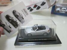 Kyosho - AMG - Mercedes-Benz SLK 55 AMG - Silver - Scale 1/64 - Mini Car D10