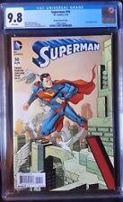 Superman (2011 3rd Series) #50 Johnson Variant CGC 9.8 1:100
