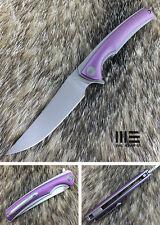 WE Knife 704A Bolher M390 Blade Titanium Frame Lock Flipper Knife
