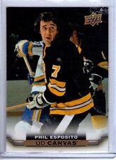 2015-16 Upper Deck Canvas Retired Series 2 #245 Phil Esposito SP