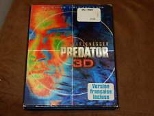 """""""PREDATOR"""" 3D/2D 2-DISC BLU-RAY/DVD W/LENTICULAR SLIPCOVER SCHWARZENEGGER"""