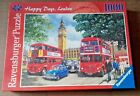 Happy Days London 1000 Piece Ravensburger Puzzle Complete & in Good Condition
