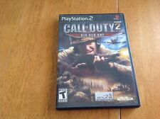 Call of Duty 2: Big Red One (Sony PlayStation 2, 2005) Complete
