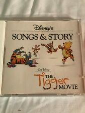 DISNEY'S SONGS & STORY: THE TIGGER MOVIE CD! 2000 WALT DISNEY RECORDS! MINT!