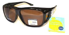 Cancer Council Womens Coverspecs Polarised Sunglasses Gymea Brown Fitover Drive