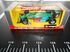 Burago 1/24 BENETTON Ford F1 Grey Box New