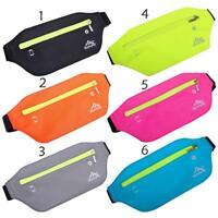 Waterproof Running Bum Bag Fanny Pack Waist Bags Belt Pouch Sports Wallet Pouch