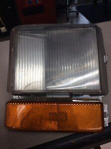 Refurbished Cadillac Deville Brougham Left Side Turn Signal Light, 1980-1989 OEM