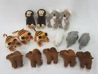 McDonald's Amazing Wildlife 1994 Lot of 15 Plush Toys Collectibles (invA28)