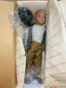 Collector Little Rascals porcelain doll: Stymie