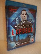 Exposed (Blu-ray 2015) Keanu Reeves - New/Sealed