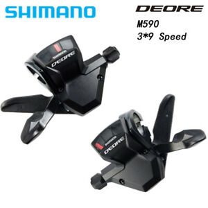 Shimano Deore SL-M590 3/9 3X9 Speed Trigger Shifter Dual Lever Shifters Plus