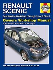 Renault Scenic Service and Repair Manual by Haynes Publishing Group (Paperback, 2015)