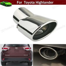 1pcs Exhaust Muffler Tail Pipe Tip Tailpipe for Toyota Highlander 2009-2017 2018