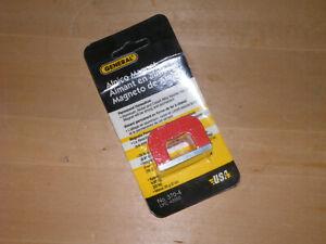 General Tools Alnico Horseshoe Shaped Magnet #370-4 - 22lb Capacity