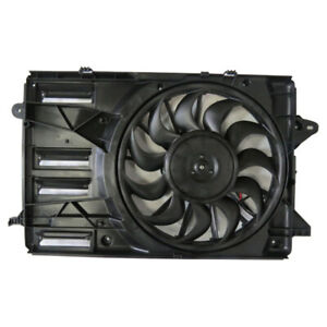 Dual Radiator and Condenser Fan Assembly TYC 624090 fits 16-20 Chevrolet Malibu