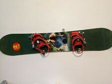 New listing K2 Illusion 158cm Snowboard With Bindings + Burton Freestyle Kids Boots