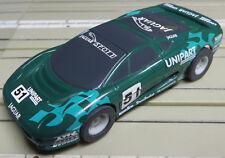 Pour H0 Circuit Routier Électrique Course Modellbahn - Jaguar Xj220 avec Horny