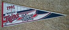 MINNESOTA TWINS 1991 American League Western Division Champions Baseball Pennant