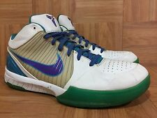 VTG🔥 Nike Zoom Kobe 4 IV Draft Day Hornets Orion Blue Purple Sz 12 344335-151