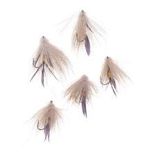 5Pcs Muddler Minnow Mouches Truite Eau douce Pêche à la mouche Pêche à