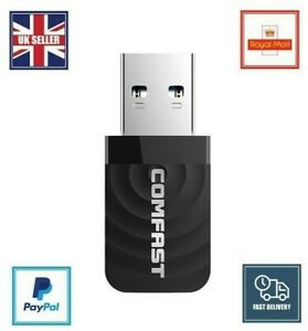 1200Mbps USB 3.0 Dual Band WiFi Dongle 5.8GHz/2.4G Wireless Network Adapter