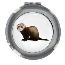 Furet Image Motif Miroir de Sac à Main Main Cadeau Neuf
