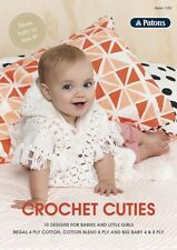PATONS - PATTERN BOOK #1102 CROCHET CUTIE FROM BABY TO SIZE 4