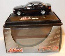 RARE SCHUCO BMW SERIE 7 NOIRE HO 1/87 IN BOX