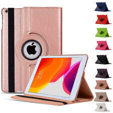 """For Apple iPad 8th Generation 10.2"""" 2020 Smart 360° Rotating Leather Case Cover"""