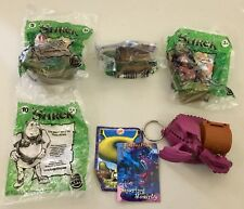 Vintage Shrek - Burger King Toys - 2001 - Lot of 4 - New