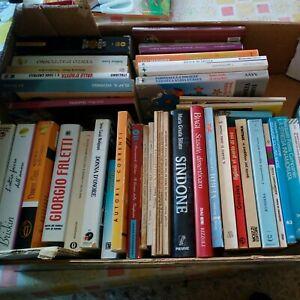 LOTTO 50 libri vari titoli varie condizioni
