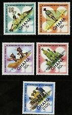 Ghana   1972   Scott # 460-464  Mint Lightly Hinged Set