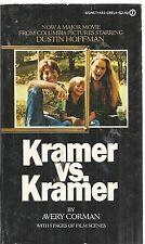 Kramer vs. Kramer by Avery Corman (1979, Paperback)