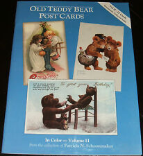Old Teddy Bear Postcards 27 Reproduction postcards in Color Volume II Holidays