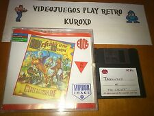 PC DEFENDER OF THE CROWN DISK GAME AMIGA ATARI VERSION ESPAÑOLA