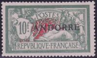 """ANDORRE N°22 """"10F MERSON 10F VERT""""NEUFxxTTB VALEUR:645€"""