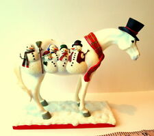 Trail of Painted Ponies FROSTY Painted Pony Horse  Janee Hughes 2006