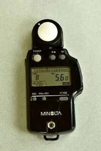 MINOLTA AUTOMETER IV F, Ambient and Flash meter.