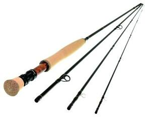 NEW A.Jensen Rhodani Fly rod 4pc 10ft #2or#3 Medium/Fast Action nymphing/dryfly
