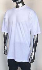 100% Cotton UNDER SHIRT White T Shirt TEE Premium Quality 4X OVERSIZED FASHION