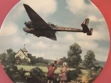 ROYAL DOULTON AEROPLANE PLATE HAMPDEN MORNING EXERCISE HEROES OF THE SKY
