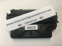 TCM USA HP CF280X MICR Alternative Toner Cartridge. 6.9K Yield.  Made in USA.
