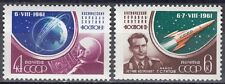 Su/CCCP n. 2521a -2522 a ** start WOSTOK 2-German Titov