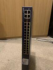Netgear FS728TP - ProSafe 24 + 4 Smart Switch with PoE FS728TPv2