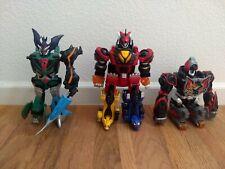 Power Rangers Jungle Fury Pride Beast Master Megazord transformer lot
