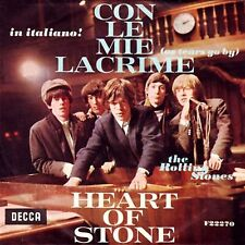 The Rolling Stones Con Le Mie Lacrime = As Tears Go By / Heart Of Stone 7, Si...