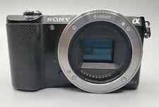 Sony Alpha a5000 20.1MP Digital Camera - Black (Body Only) [ Read Description]