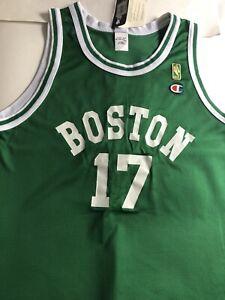 Boston Celtics# 17- Lg John Havlicek- NBA Gold Champion 50 Anniversary Jersey